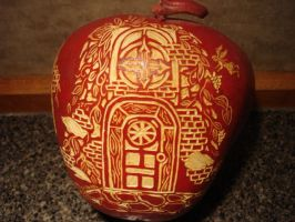 Apple gourd by scootersmom