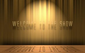 welcome to the show psd free by 3DEricDesign