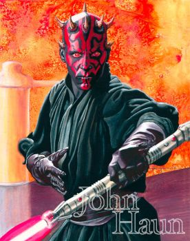 Darth Maul  John Haun by JohnHaunLE