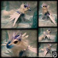 Frost Dragon - Handmade OOAK Artdoll - SOLD by SonsationalCreations