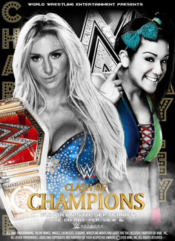 WWE Clash Of Champions Poster 2016 by SidCena555