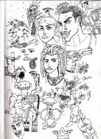 Random Characters by LooseMinded
