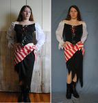Pirate Costume by PirateLotus-Stock