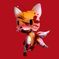 Tails Doll Chibi by Frozenwinters