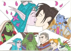 World of Warcraft - Secret Wedding p3 by Tyrannuss555