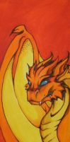 dragon painting by terminatress
