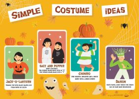 Simple Costume Ideas by JillianEdward