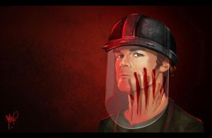 Dexter Morgan by burcuaycan