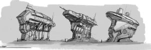 outpost concepts by Asahisuperdry