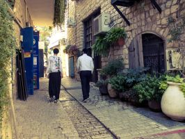 People in the old city 5 by ShlomitMessica