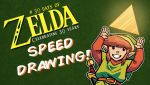 Speed Drawing - 30 Days of Zelda - Day 1 by JoeHoganArt