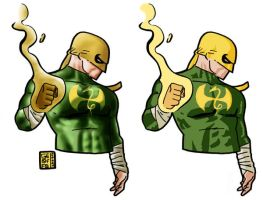 Iron Fist Wenesday 18 by Geoffo-B