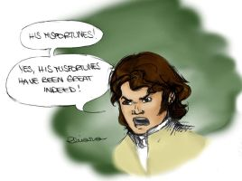 Misfortunes - Mr. Darcy by Eirene86