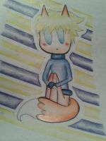 Chibi!Fox!Sweden by InvisibleBanana