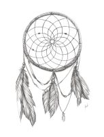 Dream Catcher BnW by packness