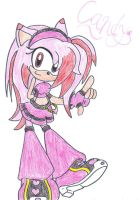 Candy the Hedgehog by MsShadowette