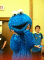 Anime Crossroads 2013 - Cookie Monster by GoodDokCosplay