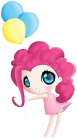 Pinkie Pie so cute by RaimbowNyan
