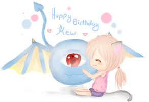 HBD Mew by Hannun