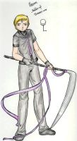 Knight Kharon Concept by SailorV-babe
