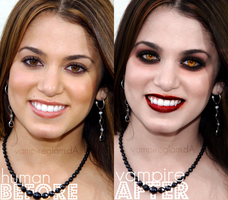 before-after nikkireed+ by vampireglam