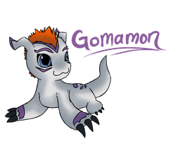 GOMAMON by flowertigers
