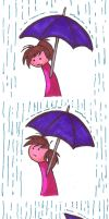 In the Rain by Trish-the-Stalker