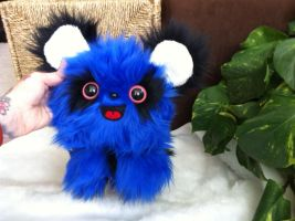 Blue Foozy Monster No 2 by EyepatchNinja