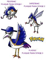 Plague Fakemon by shadowfan36