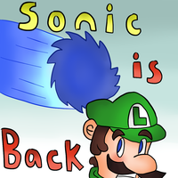 Sonic in super smash bros for the wii u/3ds by thegamingdrawer