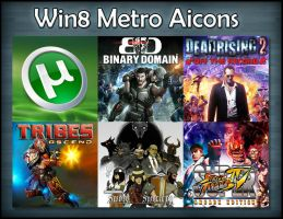 Win8 Metro Aicon Pack by HarryBana