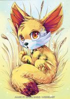Pokemon: Fennekin by tikopets