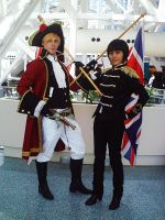 AX'11: England and Japan by theEmperorofShadows