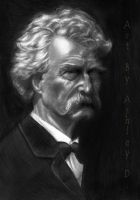 Mark Twain by shley77