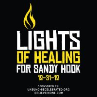 Lights of Healing for Sandy Hook by designstew