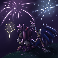 Fireworks by Blue-Chica