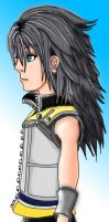 Riku coloured by deviantangel-378