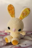 Baby Bunny Crochet + Blanket by bicyclegasoline