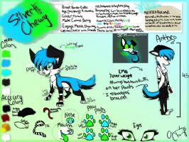 Silver Lyolin Chewy Reference sheet by SilverWolfSpirit1998