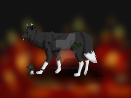 Contest Wolf (my first try) by Strauchichen