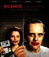 The Silence of the Lambs - Movie Poster by Zungam80