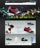 Nike Shop Ecommerce Design by avcibulent