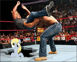 A Derpy in WWE by renacer87