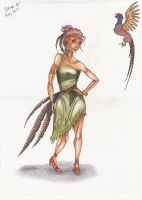 Pheasant Lady by ITAFTRS