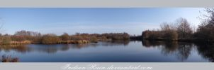November Lake Panorama by IndianRain