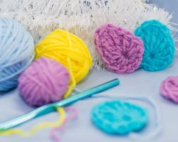Crochet easter eggs by Mary-SD