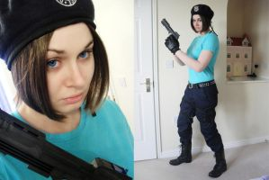 Jill Valentine Progress by Nomiiku