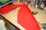 Kururu's skirt in process by Die-Rose