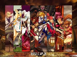 Guilty Gear X by Catrin47