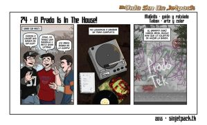 My Life Without A Jetpack Strip 74 by lordmagnusen